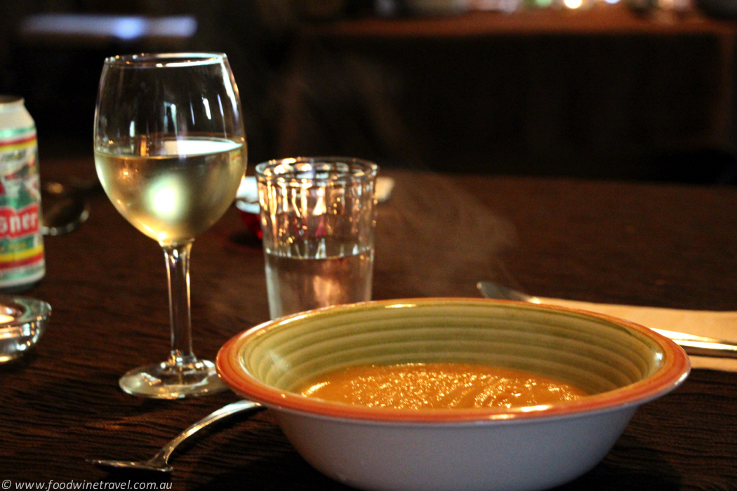 Sun Peaks Voyager's Feast Soup and Wine
