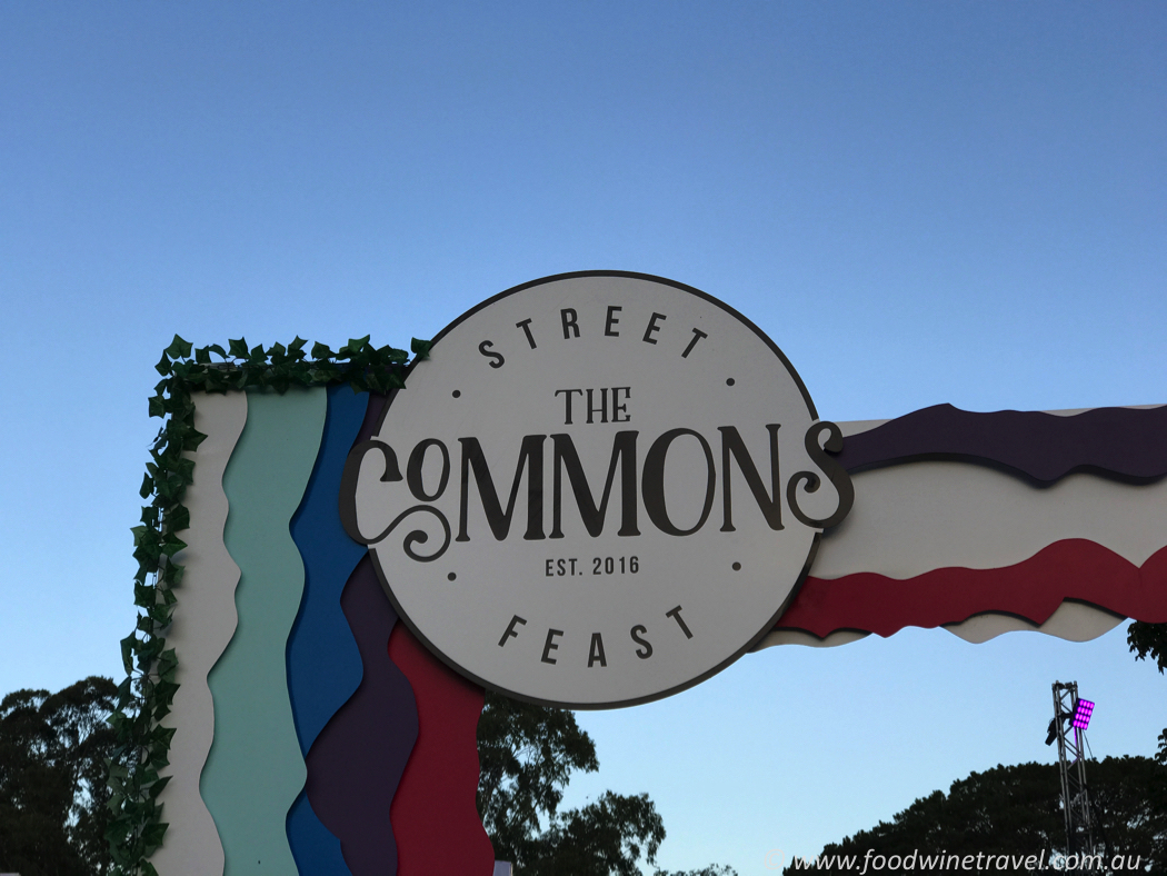 The Commons Street Feast Sign