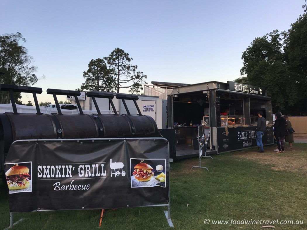 The Commons smokin' grill barbecue