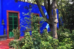 where Frido Kahlo was born in Mexico City