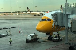 Scoot Boeing 787 Dreamliner Barry