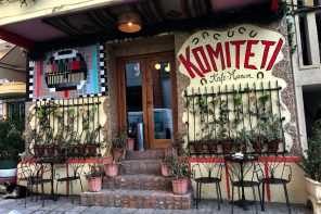 Komiteti Cafe Museum Tirana Albania
