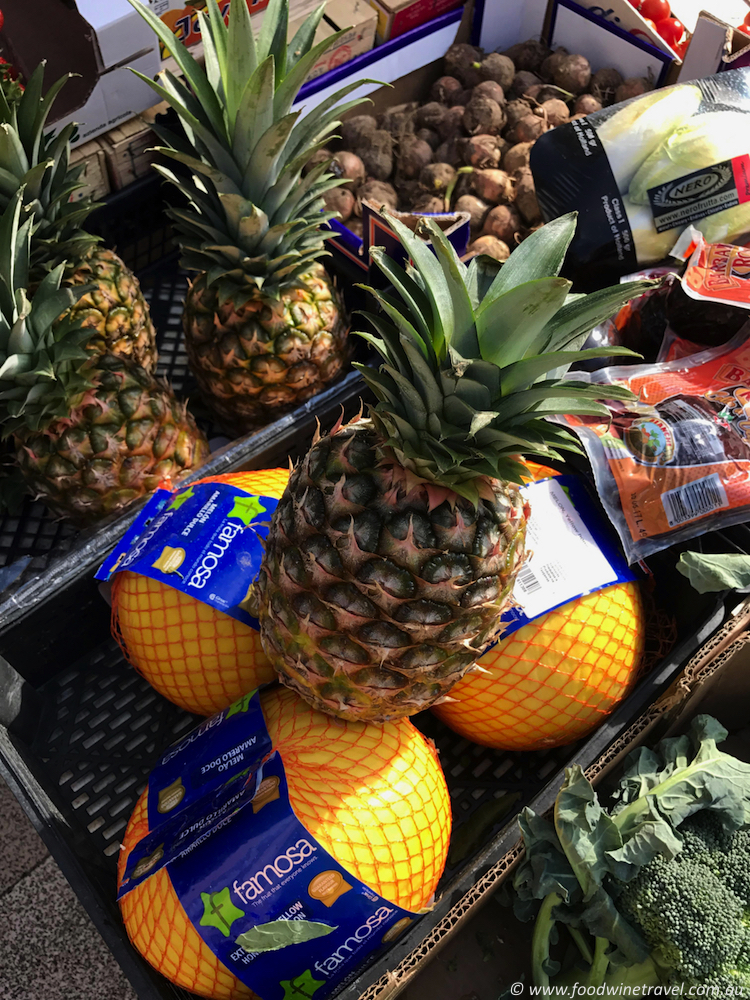 Matera Market pineapples