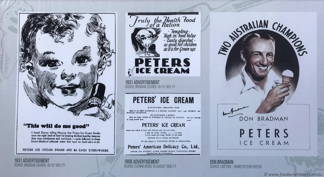 Brisbane Icecream Festival Old Icecream Advertisements-imp