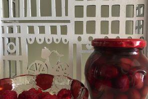 In My Kitchen March 2017 Mullixhiu restaurant Cornelian Cherry