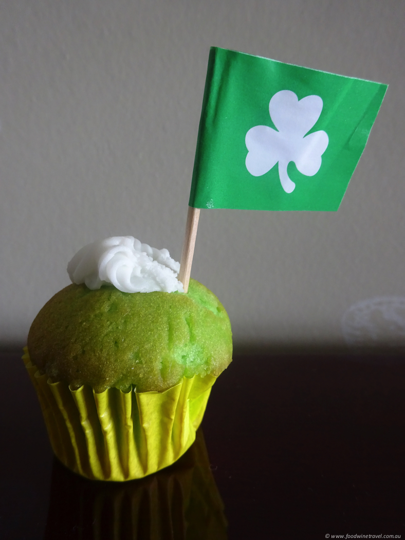 In My Kitchen March 2017 St Patrick's Day Cupcake