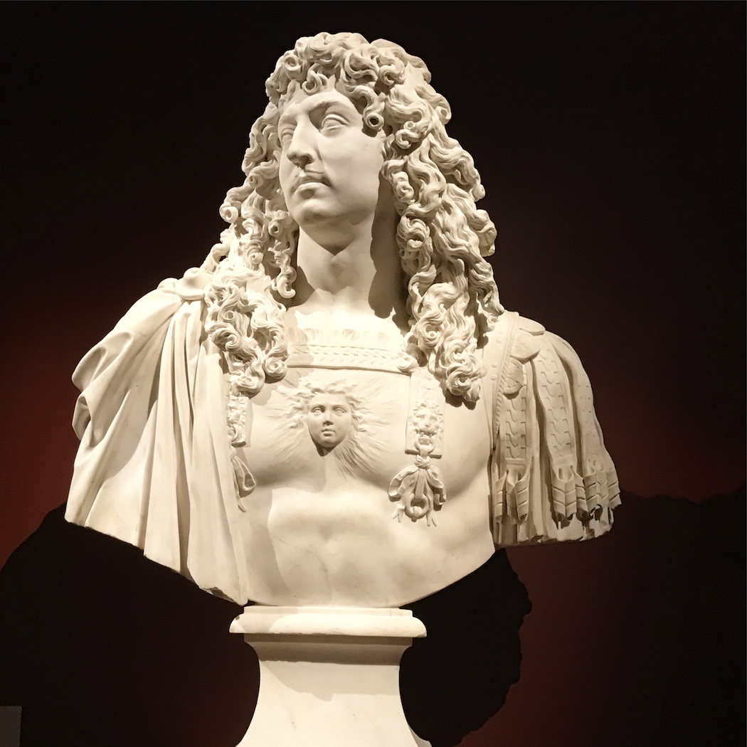 Jean Varin marble bust of Louis XIV 1665 to 66