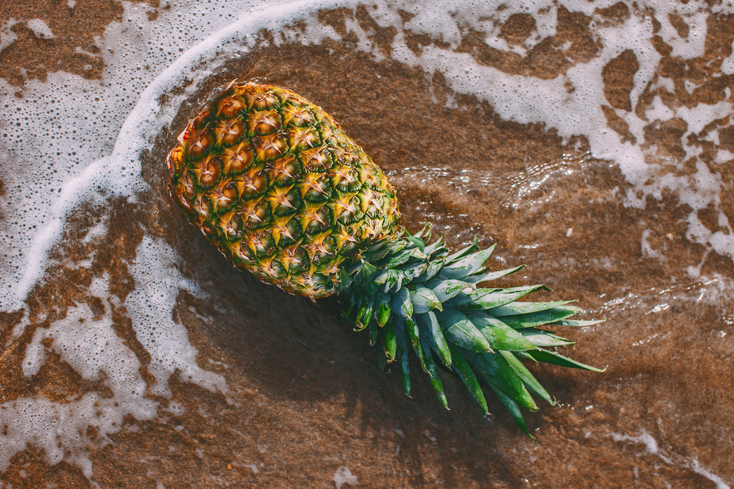 Pineapple on Beach Gold-Coast-Food-and-Wine-Festival