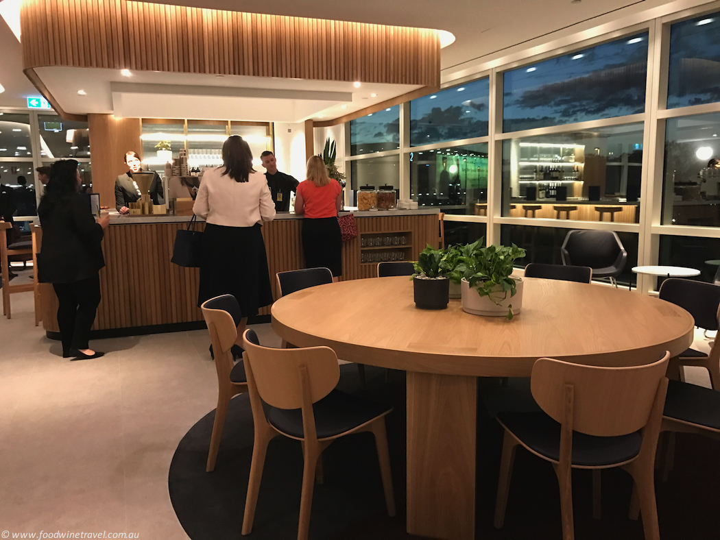 Qantas Domestic Business Lounge Bar