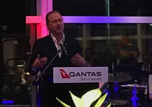 Qantas Domestic Business Lounge Neil Perry