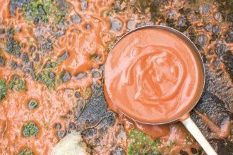 The Palomar Cookbook recipe for Velvet Tomatoes