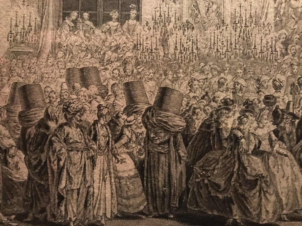 The Masked Ball given in the Hall of Mirrors at Versailles 25 February 1745