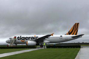 Tigerair Australia A320 Plane