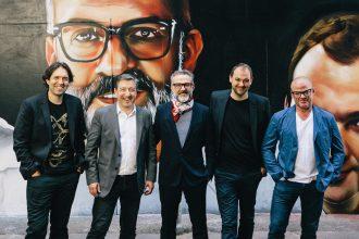 Chefs Ben Shewry, Joan Roca, Massimo Bottura, Daniel Humm, Heston Blumenthal, at Higson Lane, Melbourne