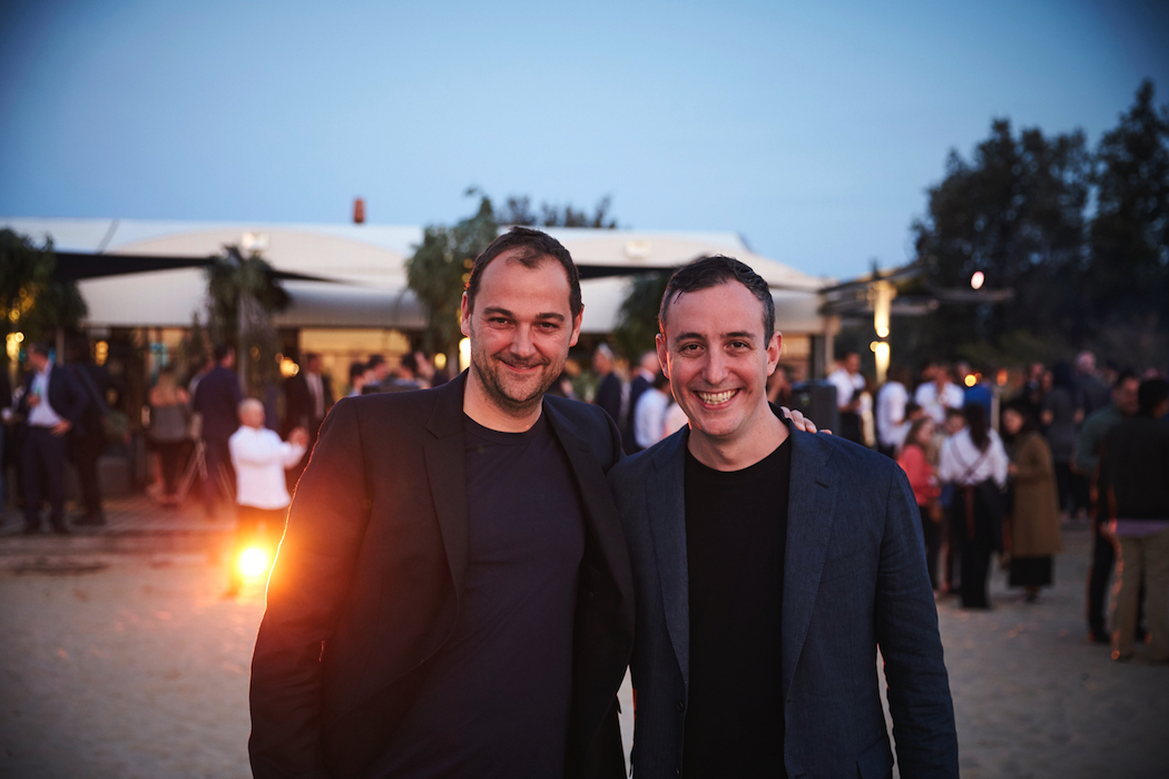 Daniel Humm and Will Guidara (Eleven Madison Park) at The Chefs' Feast