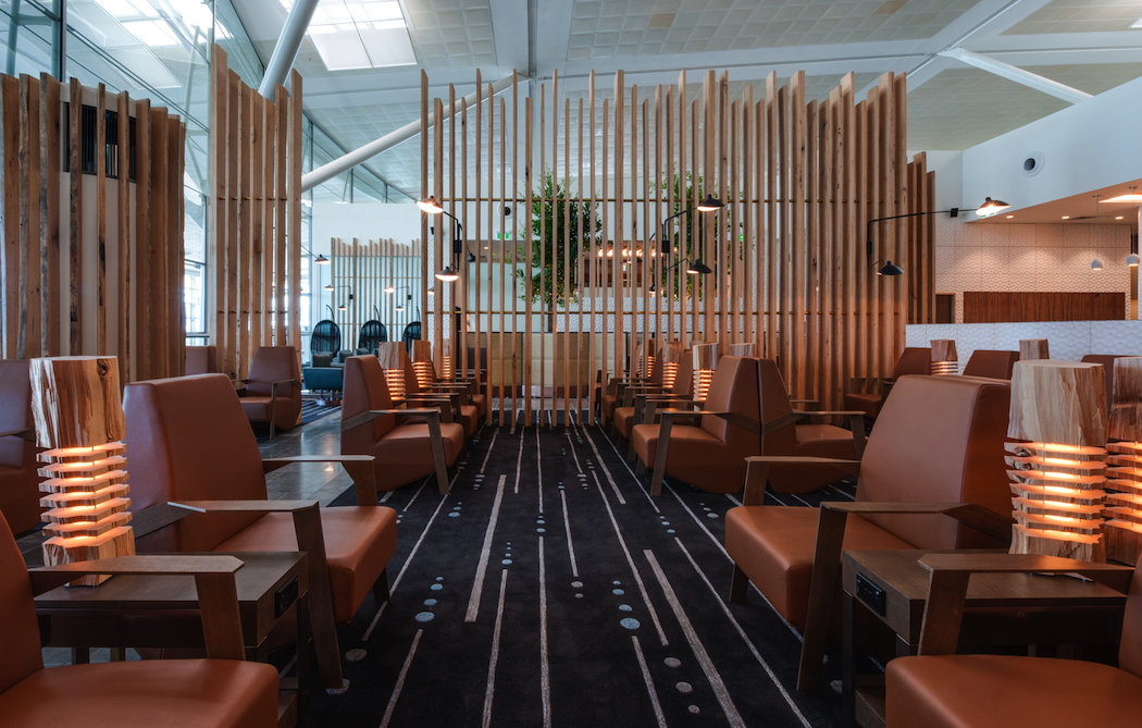 Plaza Premium Lounge Brisbane interior