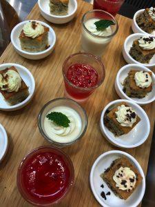 Plaza Premium Lounge desserts