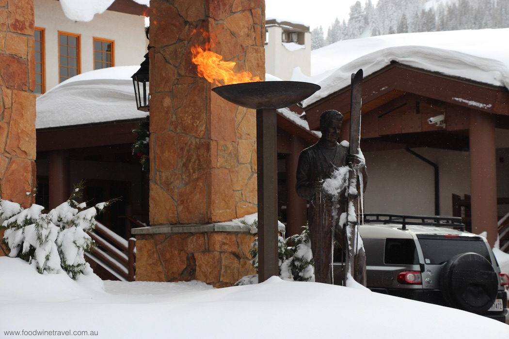 Stein Eriksen Lodge, one of the fabulous hotels in Deer Valley.
