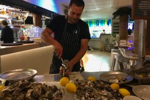 Noosa Food and WIine Festival Oysters Shucking Cafe Le Monde