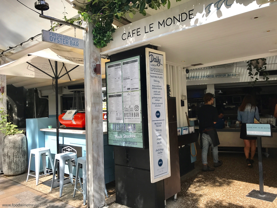Noosa Food and Wine Festival Oysters Cafe Le Monde 1