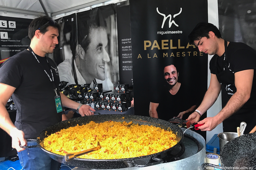 Noosa Food and Wine Festival Miguel Maestre Paella