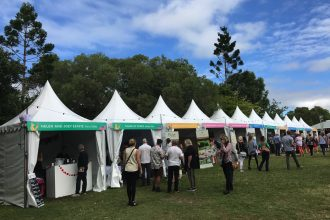 Noosa Food and Wine Festival Stalls