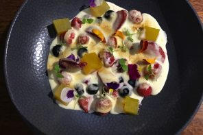 Sunshine Coast Berries With Riesling Foam And Orange Jelly