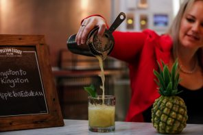 Leah Stevens presents the Appleton Estate RAW cocktail, inspired by her journey through Jamaica and its vibrant culture - credit Scott Ehler