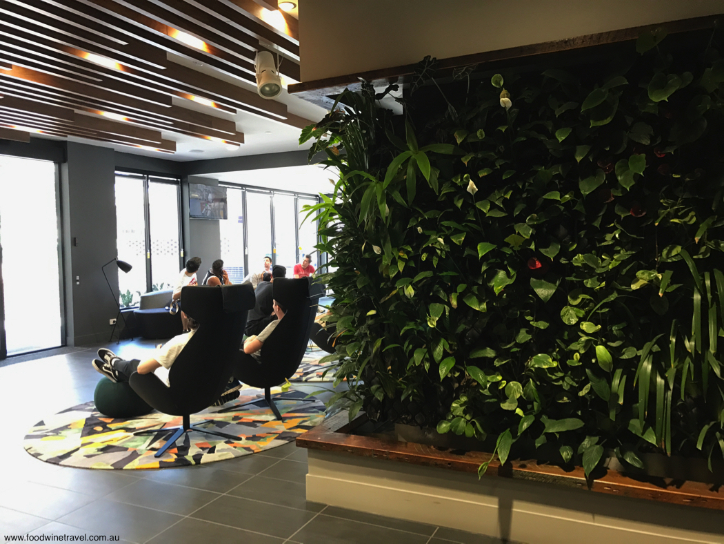 Mantra Richmont Spring Hill Lobby Living Wall