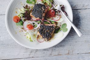 The Energy Guide Sesame Salmon