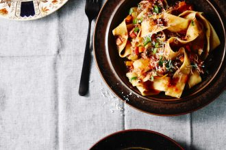 All Day Cafe pappardelle with duck ragu