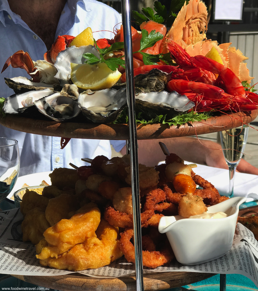 Sandstone Point seafood tower