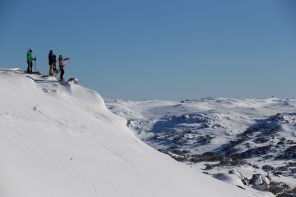 Powder Play At Perisher Resort, Australia