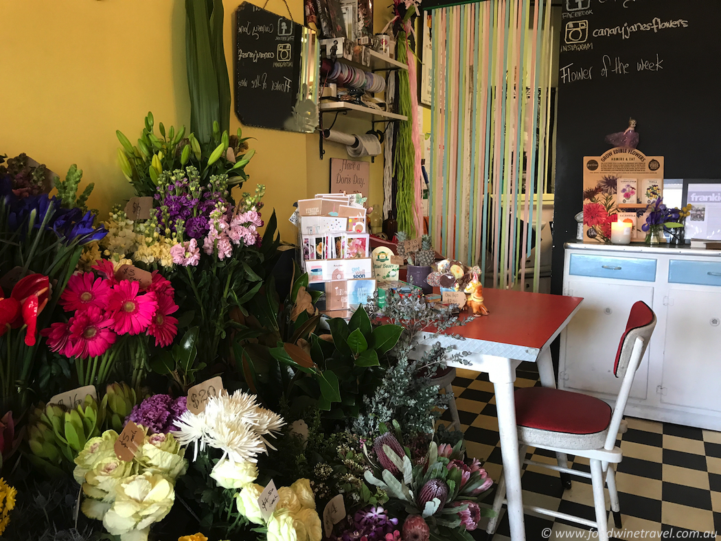 Canary Jane's Flowers, Hawthorn, best Melbourne florists, Rebecca Stacey, best Australian travel writers, Christine Salins.
