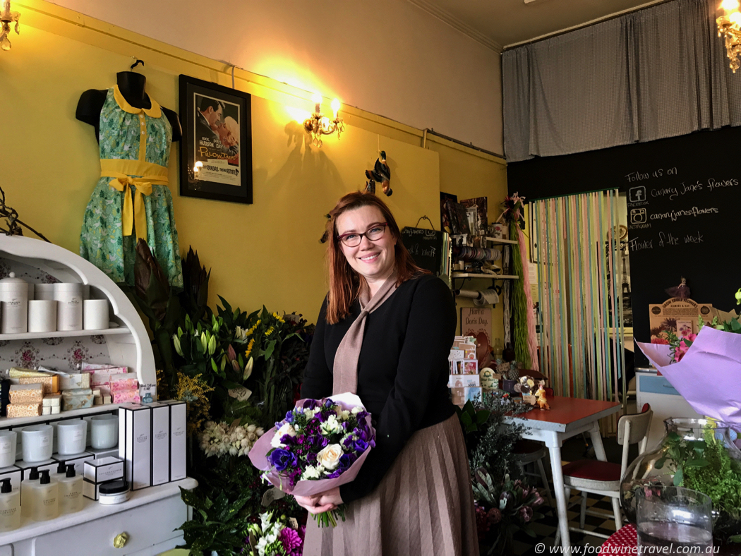 Canary Jane's Flowers, Hawthorn, best Melbourne florists, Rebecca Stacey.