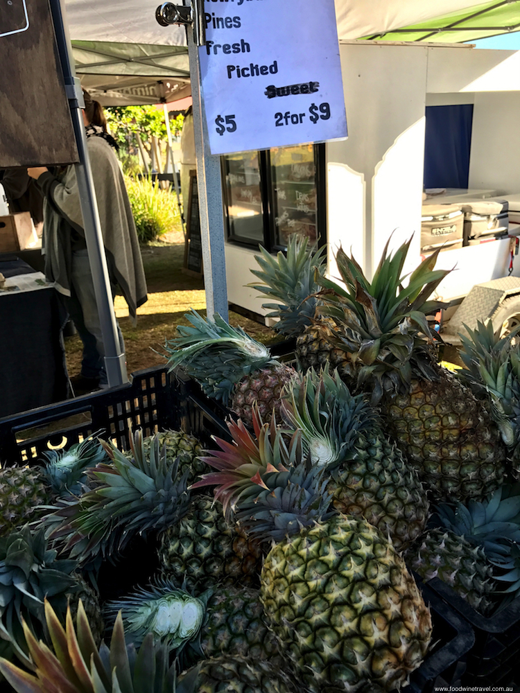 Ballina Missingham Farmers Market Pineapples