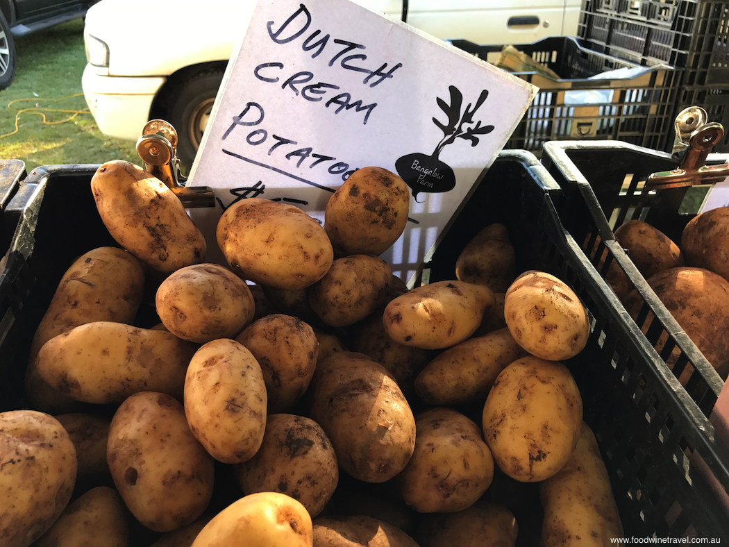 Ballina Missingham Farmers Market Potatoes