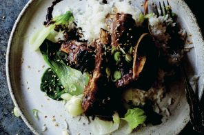 Asian-style sticky lamb ribs recipe, from Low & Slow cookbook