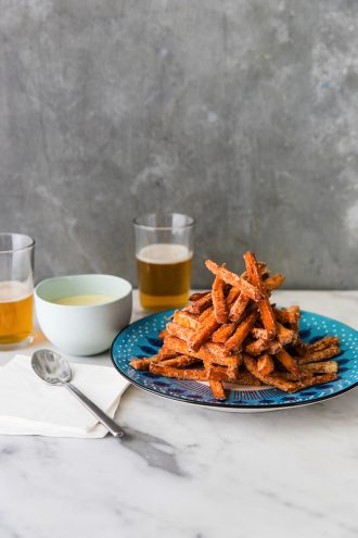 Sharing Plates and a Recipe for Sweet Potato Fries