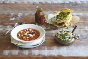 Greek Bean Soup from The Everyday Kitchen by Fast Ed Halmagyi