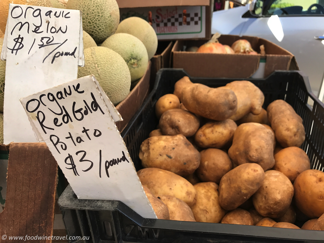 Solvang Farmers Market Organic Red Gold Potato