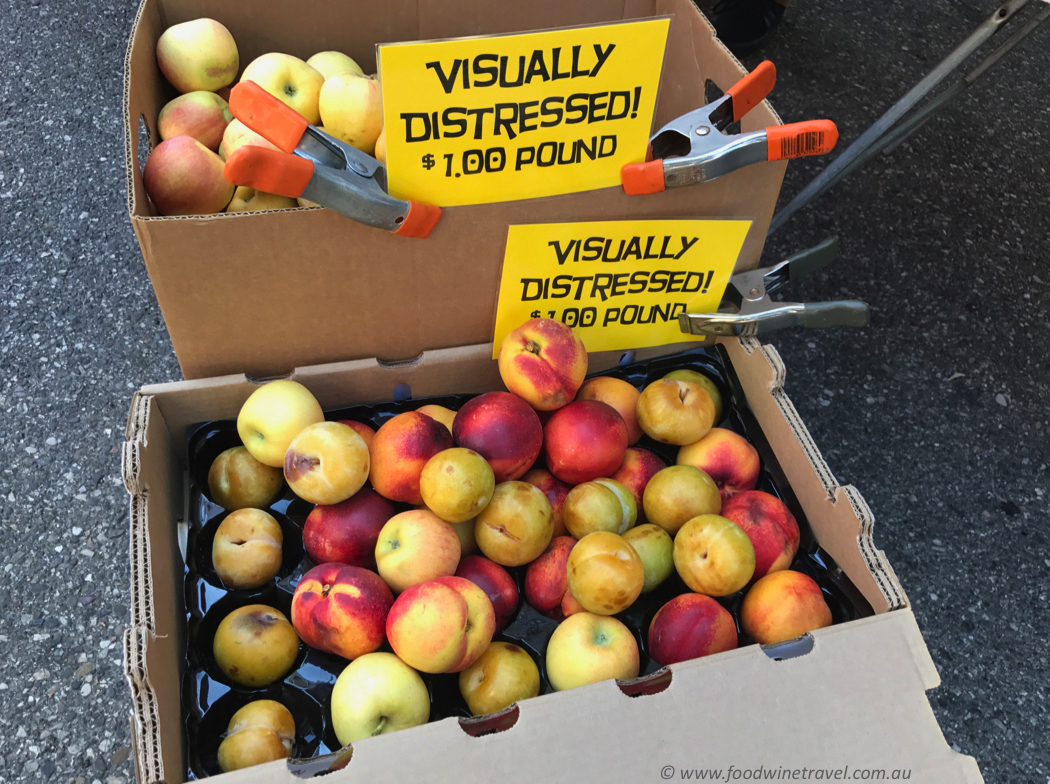 Solvang Farmers Market Visually Distressed Apples