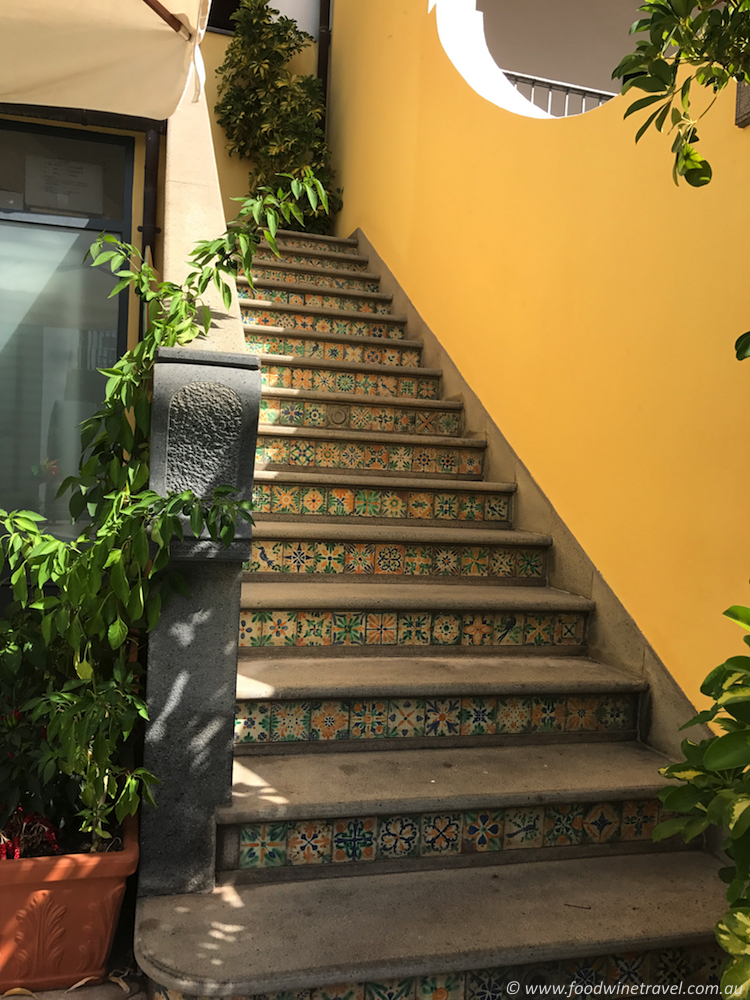 Arciduca Ceramic Tiles On Steps