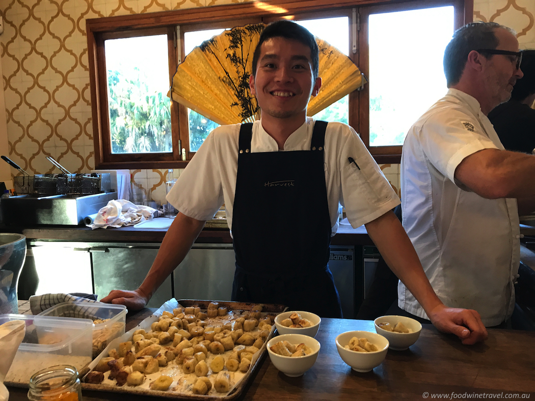 Harvest chef Si Nguyen: showcasing dishes from his native Vietnam.