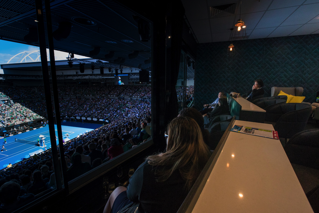 Australian Open Hospitality Launch Superboxes