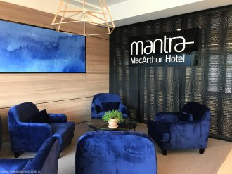 Canberra Mantra MacArthur Hotel Foyer
