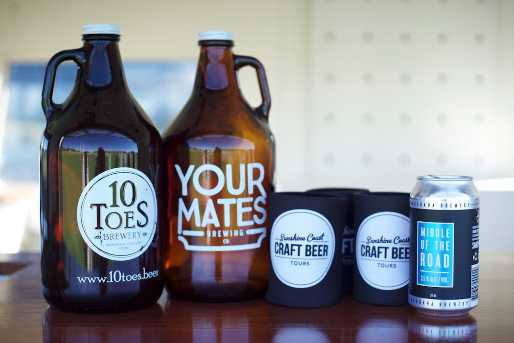 Sunshine Coast beers 10Toes Your Mates