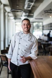 Sean Mawbey, head chef at Podilato Restaurant Canberra