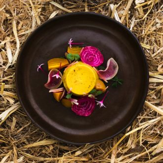 Australian Open visitors are in for a treat with gorgeous dishes from Blackbird Bar & Grill chef Jake Nicolson.