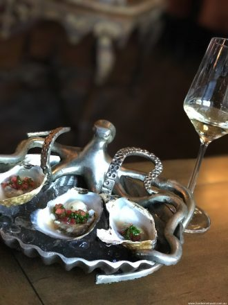 First and Oak restaurant Solvang oysters